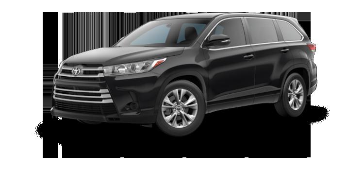 New 2017 Toyota Highlander 4-cylinder LE
