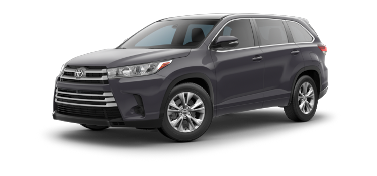 New 2017 Toyota Highlander V6 LE