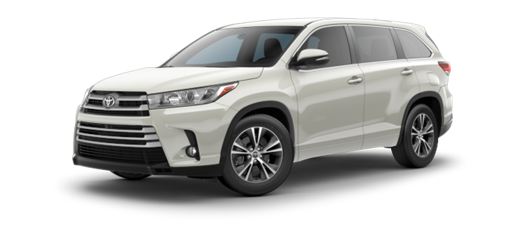 New 2017 Toyota Highlander V6 LE Plus