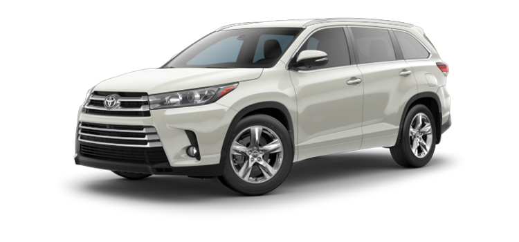 New 2017 Toyota Highlander Limited Platinum