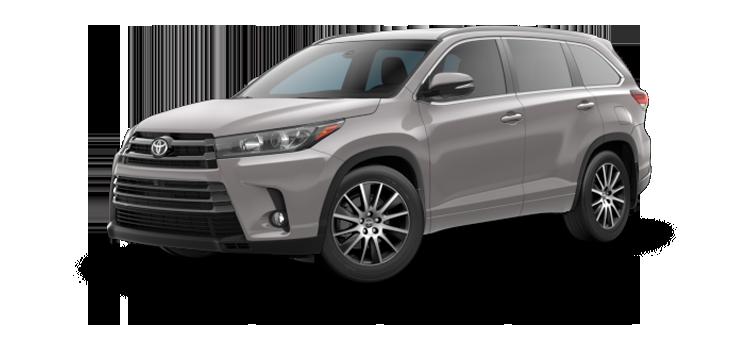 New 2017 Toyota Highlander SE
