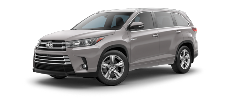 New 2017 Toyota Highlander Hybrid V6 Limited
