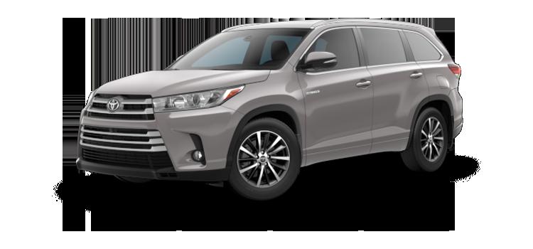 New 2017 Toyota Highlander Hybrid XLE