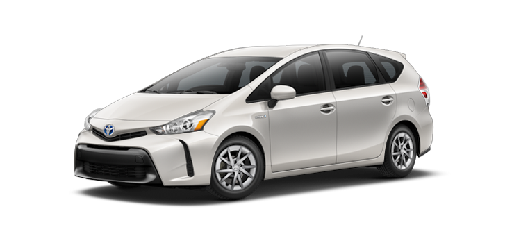 New 2017 Toyota Prius v Two