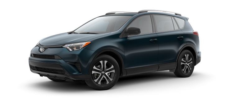 New 2017 Toyota RAV4 LE