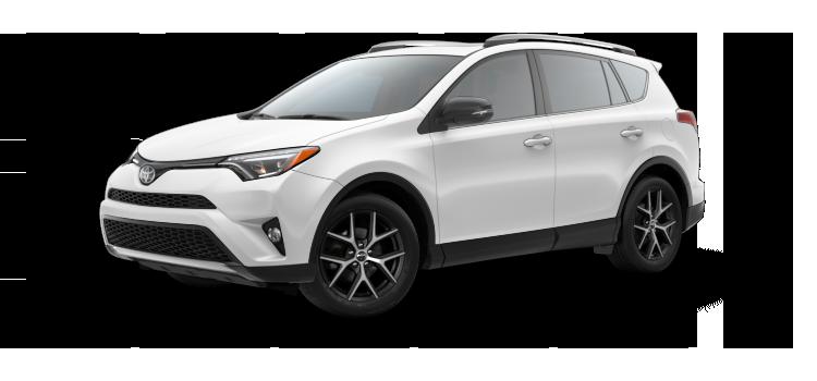 New 2017 Toyota RAV4 SE