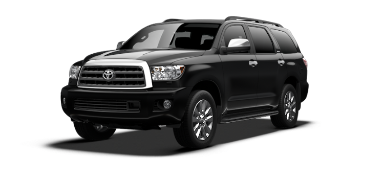New 2017 Toyota Sequoia FFV Platinum