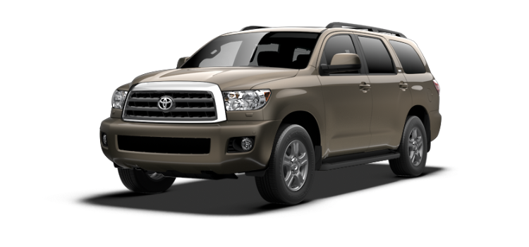 New 2017 Toyota Sequoia SR5