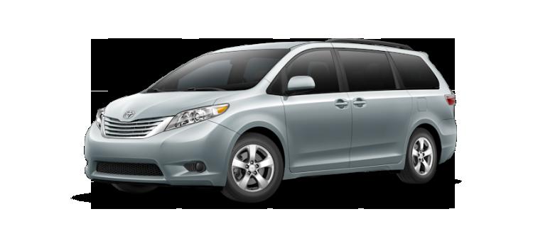 New 2017 Toyota Sienna 8 Passenger LE