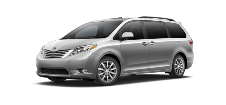 New 2017 Toyota Sienna 7 Passenger Limited