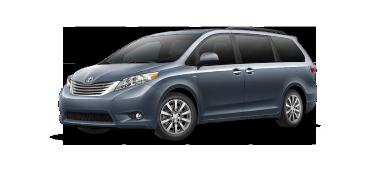 New 2017 Toyota Sienna 8 Passenger XLE