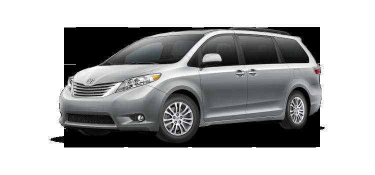 New 2017 Toyota Sienna 8 Passenger XLE Premium