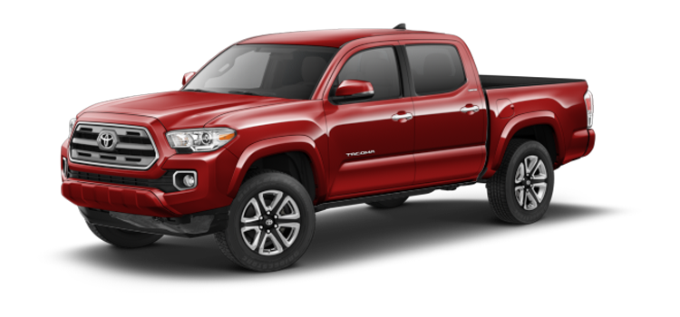 New 2017 Toyota Tacoma Double Cab Automatic Limited