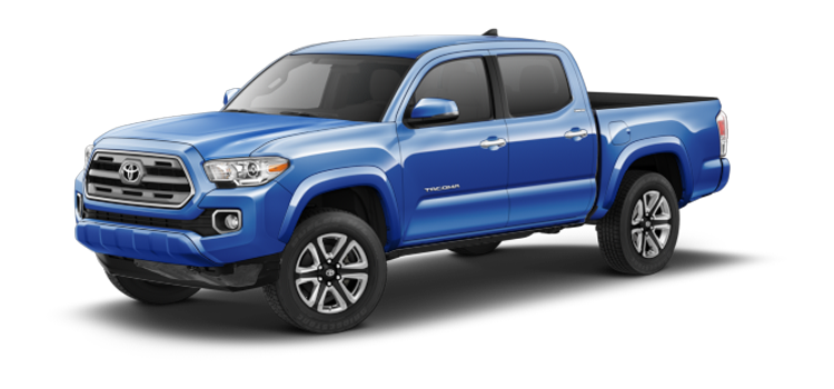 New 2017 Toyota Tacoma Double Cab Double Cab Automatic Limited