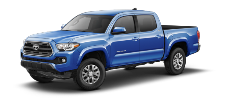 New 2017 Toyota Tacoma Double Cab 4-Cyl Automatic SR5