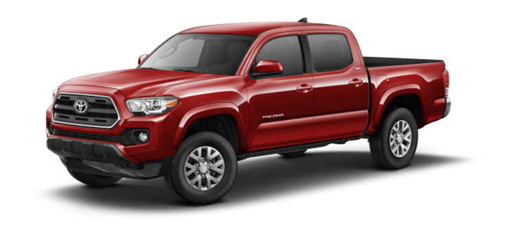 New 2017 Toyota Tacoma Double Cab Double Cab Automatic  SR5