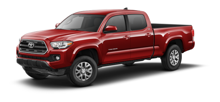 New 2017 Toyota Tacoma Double Cab V6 Automatic Long Bed SR5