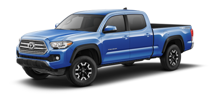 2017 toyota tacoma double cab automatic long bed trd offroad 4 door 4wd pickup 6a colorsoptions. Black Bedroom Furniture Sets. Home Design Ideas