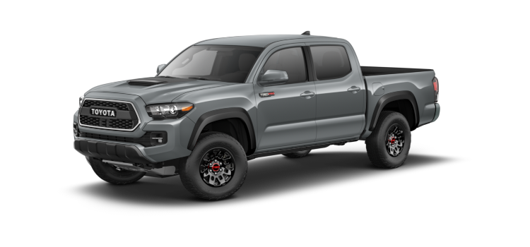 2017 Toyota Tacoma Double Cab Automatic Trd Pro 4 Door 4wd Pickup
