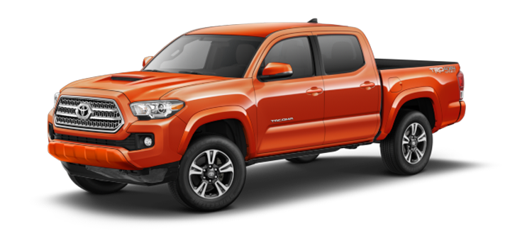 New 2017 Toyota Tacoma Double Cab Automatic TRD Sport