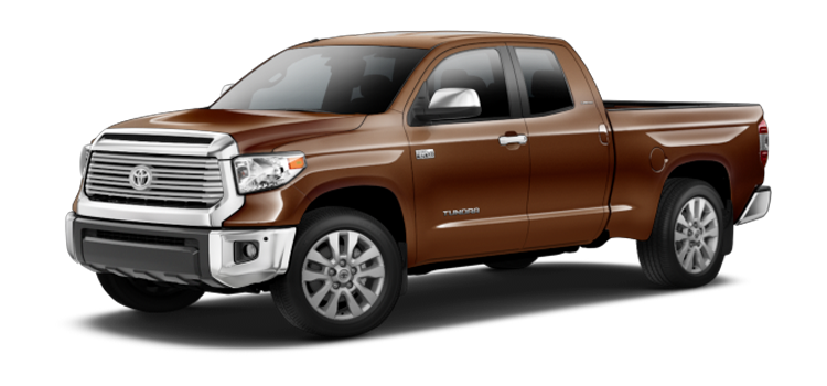 New 2017 Toyota Tundra Double Cab 4x4 5.7L V8 FFV Limited