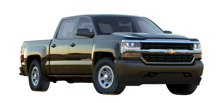 2018 Chevrolet Silverado 1500 LT 4D Crew Cab
