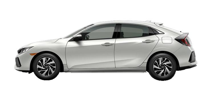 Springfield Honda - 2018 Honda Civic Hatchback 1.5T L4 with Honda Sensing LX