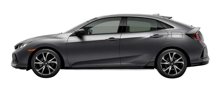 Houston Honda - 2018 Honda Civic Hatchback 1.5T L4 Sport