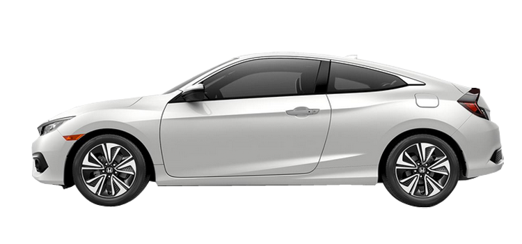 New 2018 Honda Civic Coupe 1.5T L4 With Leather EX-L