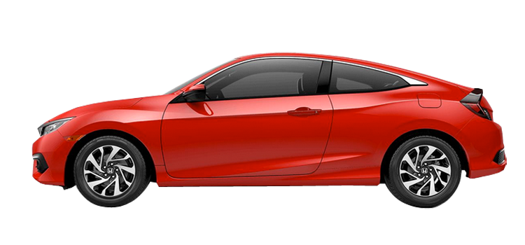New 2018 Honda Civic Coupe 2.0 L4 LX-P