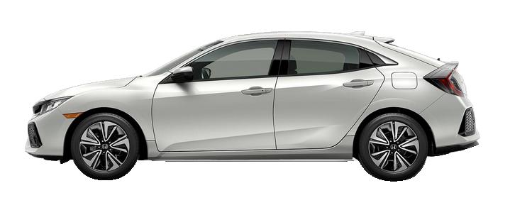 New 2018 Honda Civic Hatchback 1.5T L4 with Navigation EX-L