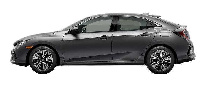 New 2018 Honda Civic Hatchback 1.5T L4 EX