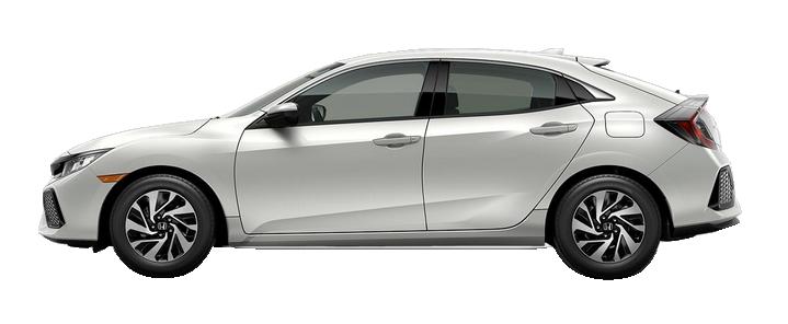 New 2018 Honda Civic Hatchback 1.5T L4 LX