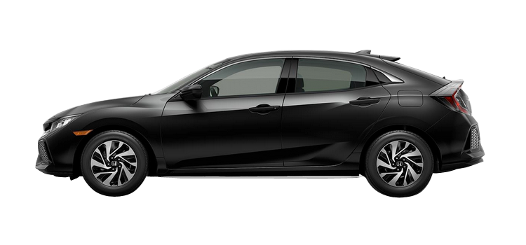 New 2018 Honda Civic Hatchback 1.5T L4 with Honda Sensing LX