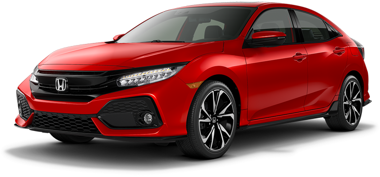 New 2018 Honda Civic Hatchback 1.5T L4 Sport Touring
