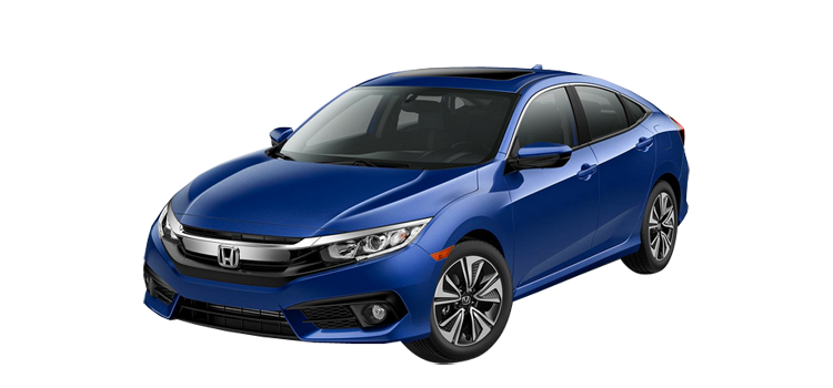 Nice New 2018 HondaCivic Sedan Leather 1.5T L4 EX L Sedan