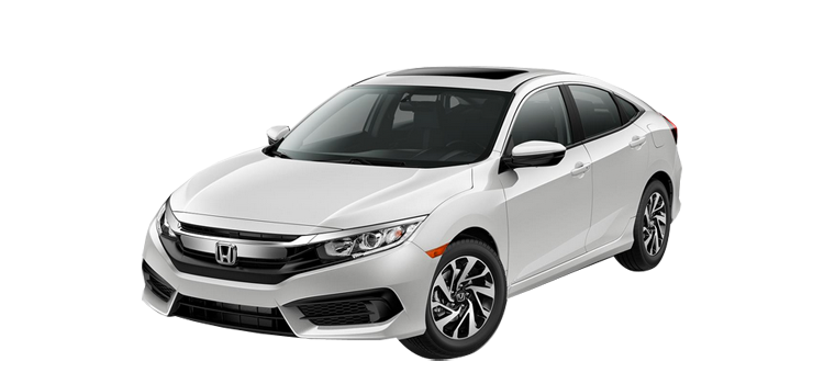 New 2018 Honda Civic Sedan 2.0 L4 EX
