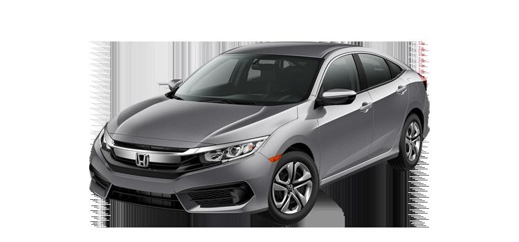 New 2018 Honda Civic Sedan 2.0 L4 With Honda Sensing LX