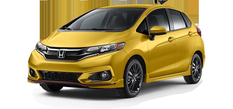New 2018 Honda Fit CVT with Honda Sensing Sport