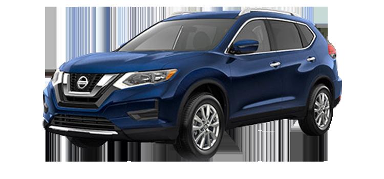 New 2018 Nissan Rogue 2.5L I4 SV