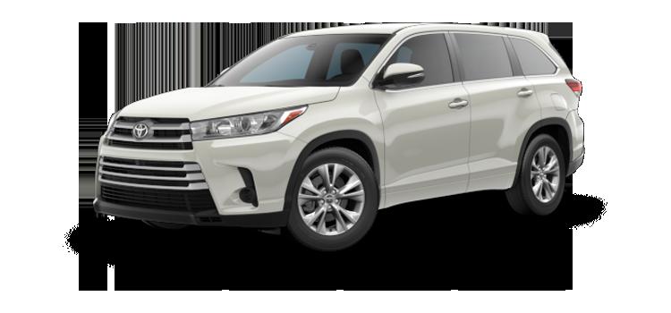 New 2018 Toyota Highlander 4-cylinder LE