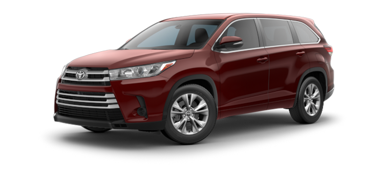 New 2018 Toyota Highlander V6 LE