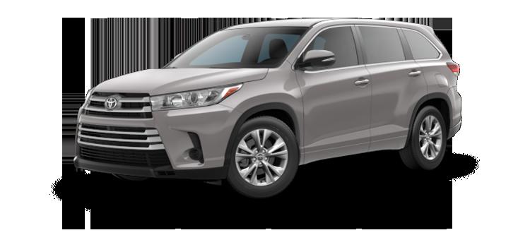 New 2018 Toyota Highlander V6 LE