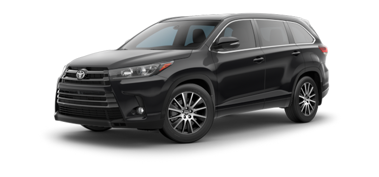 New 2018 Toyota Highlander V6 SE