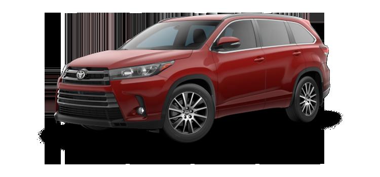 New 2018 Toyota Highlander SE