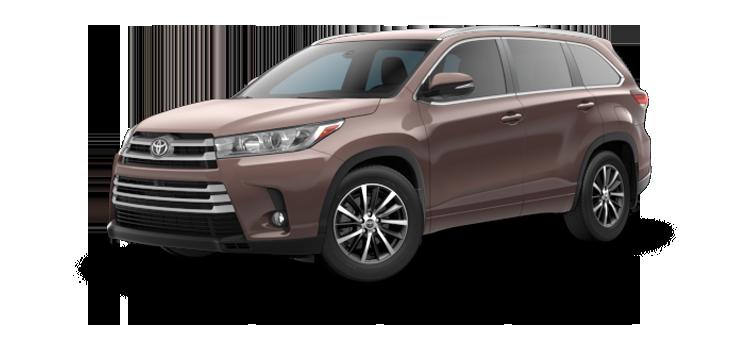 New 2018 Toyota Highlander XLE