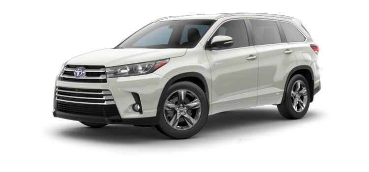 New 2018 Toyota Highlander Hybrid Limited Platinum