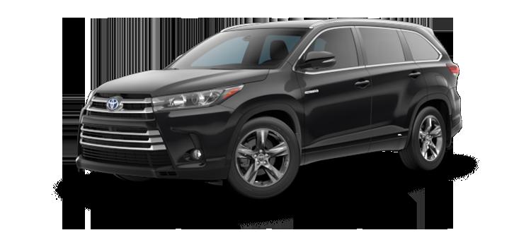 New 2018 Toyota Highlander Hybrid V6 Limited Platinum