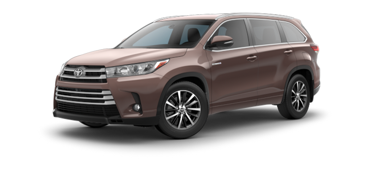 New 2018 Toyota Highlander Hybrid XLE