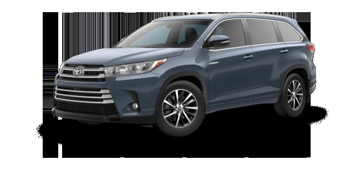 2018 Toyota Highlander Hybrid XLE 4D Sport Utility